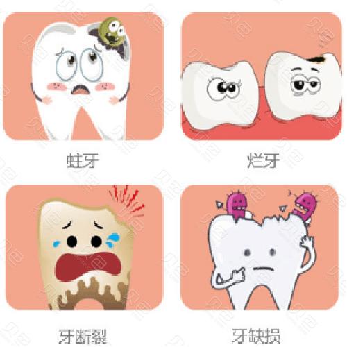 需要补牙的几种情况